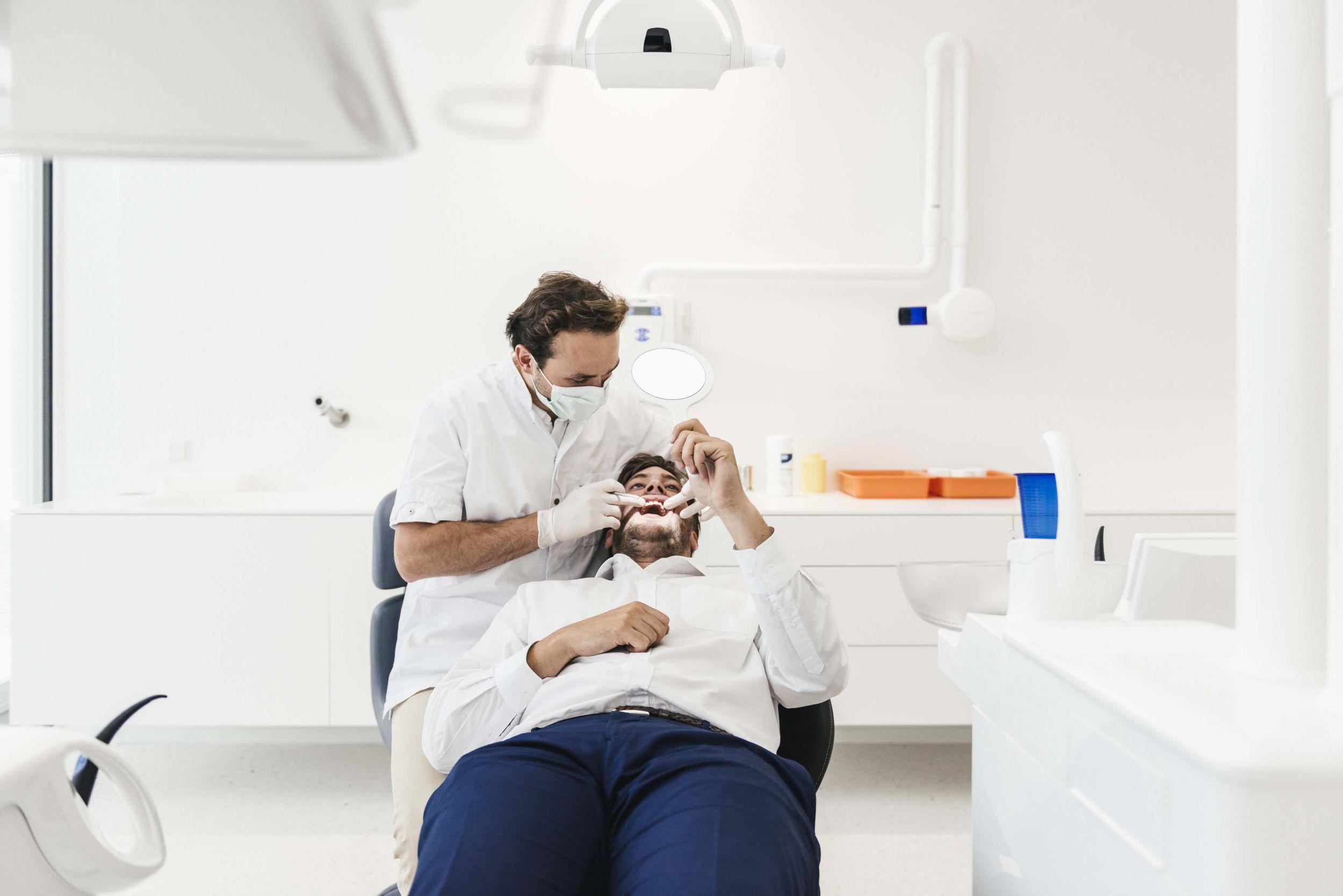 Tandens tandartsen tanden bleken